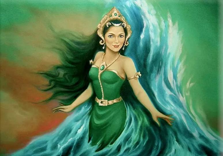 Dlaczego nie powinniście nosić zielonych ubrań na plaży. Legenda o Nyai Roro Kidul