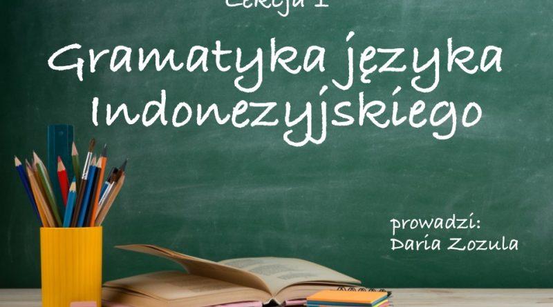 Gramatyka języka Indonezyjskiego